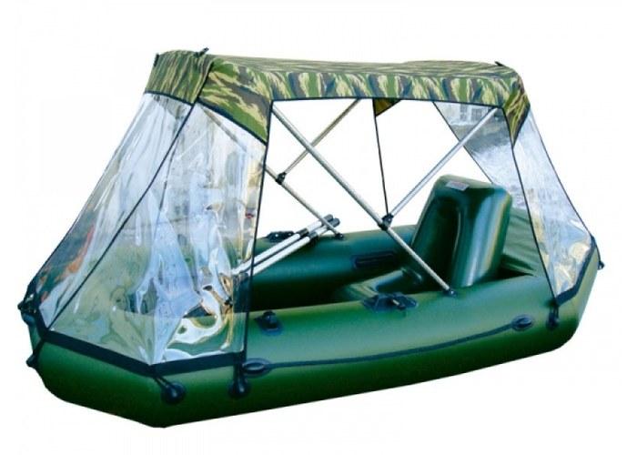 тент-крыша для лодок видео